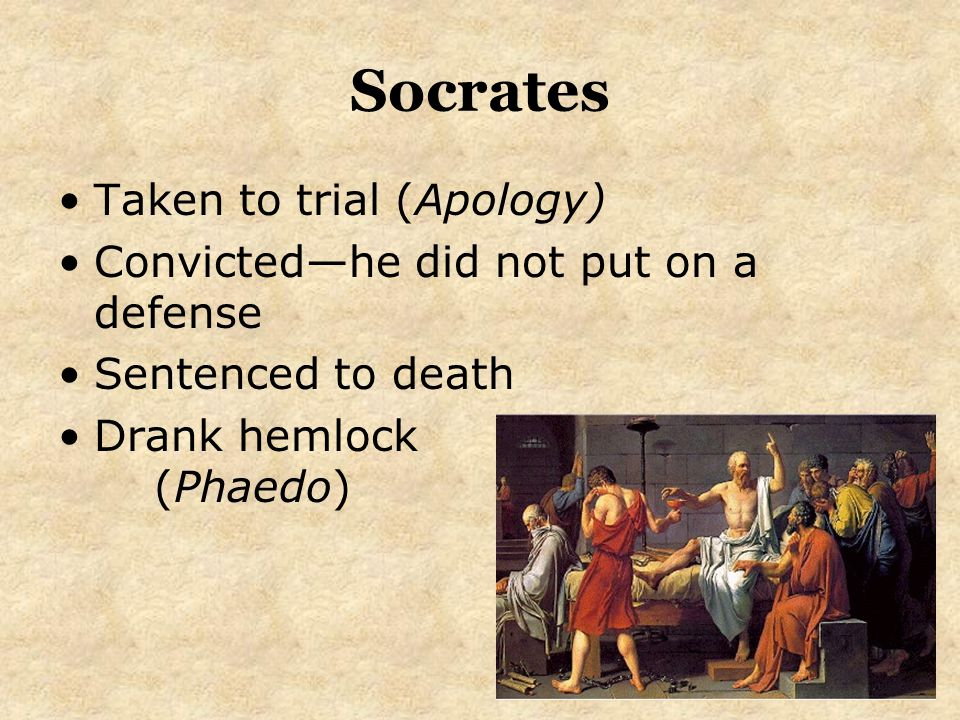 the trial and death of socrates The trial of socrates  the crowd begins to stir and there are calls for socrates' death judge #2: enough we have all heard the haughty words of socrates.