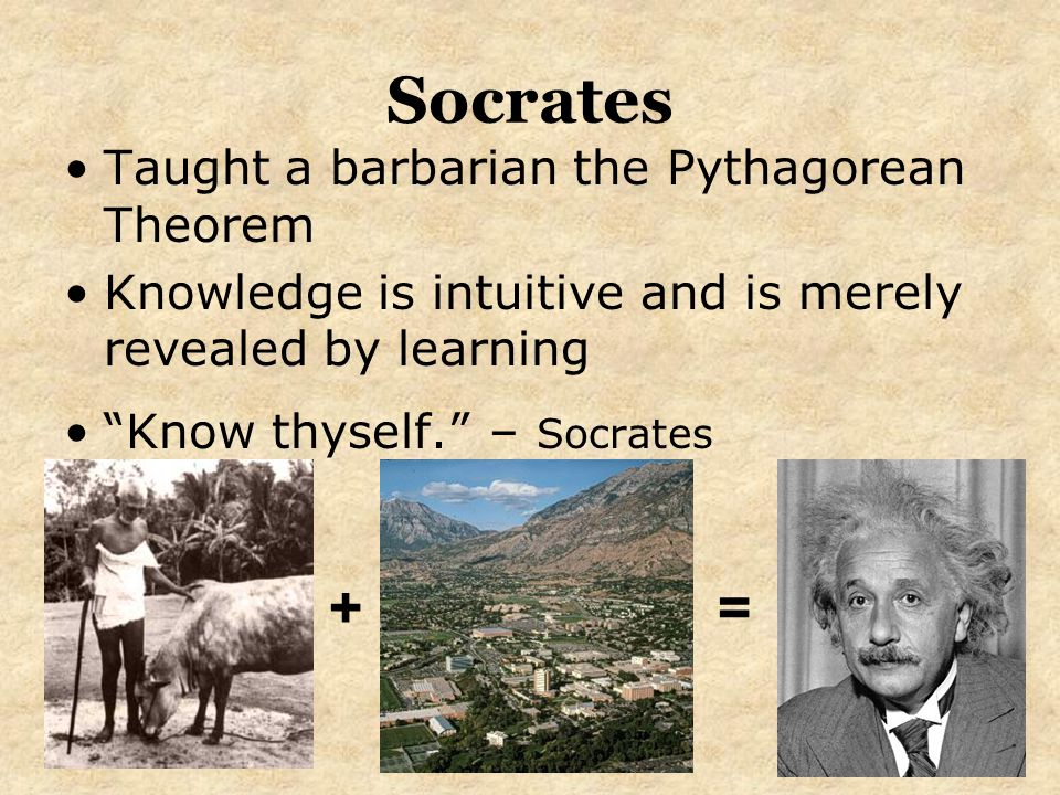 socrates teachings promotes knowledge The philosopher socrates remains, as he was in his lifetime (469–399 bce), [] an enigma, an inscrutable individual who, despite having written nothing, is considered one of the handful of.