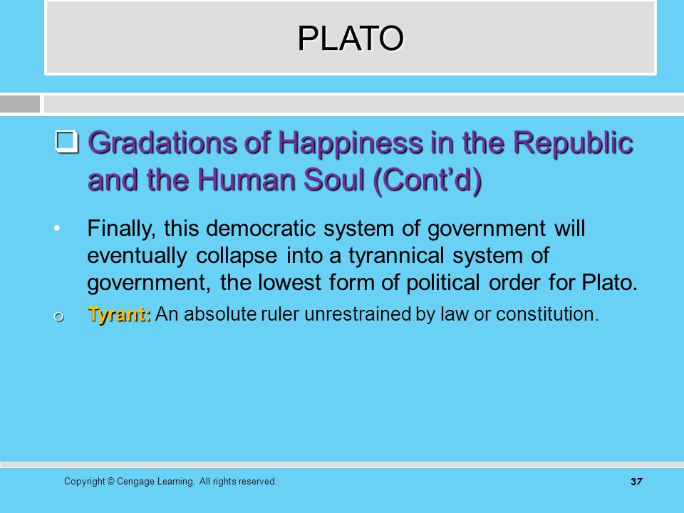 a discussion on platos views on soul and politics in the republic - plato's republic justified in plato's republic, socrates leads a discussion with his fellow philosophers attempting to isolate the concept of justice in the soul in order to accomplish this task, they hypothesize that justice can occur both in the city as well as and the soul.
