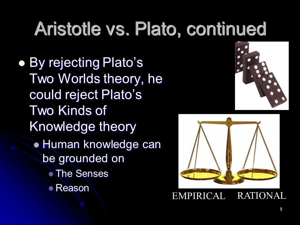 "ultimate reality plato vs aristotle The second podcast is an introduction to metaphysics as science of being qua beingthis notion of one all-encompassing reality proves to be completely alien to modern mind namely, aristotle considers that there is an ""ultimate something"", a being that transcends limitations of individual things, genera and species, and is, in fact, necessary precondition of their existence."