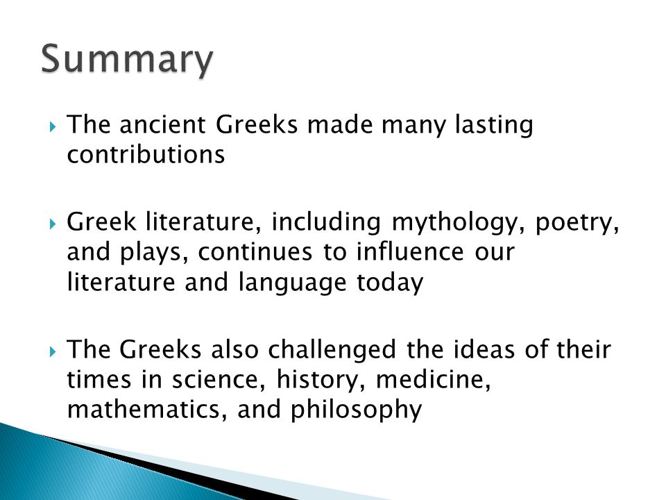 the contributions of greek philosophers to science medicine and mathematics Greek achievements by vesko ancient greeks made many influential contributions to western civilization such as in the areas of philosophy, art and architecture, and math and science.