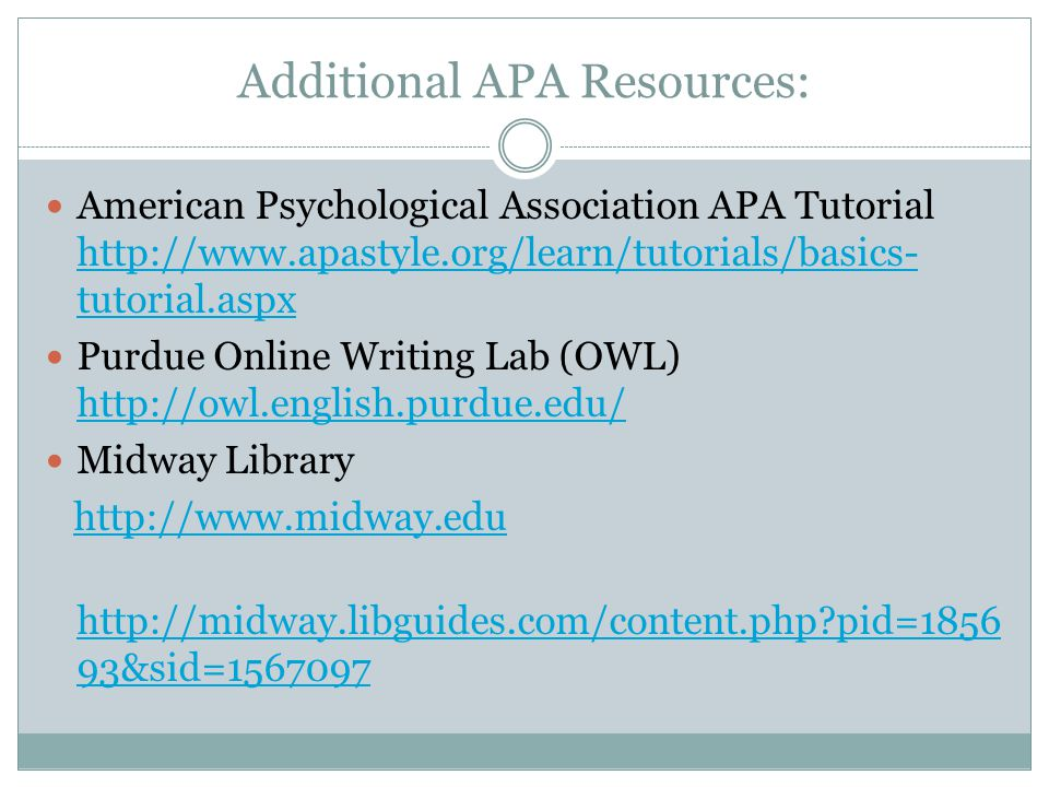 APA Style: Home - APA Style: Basics - Research Guides at ...