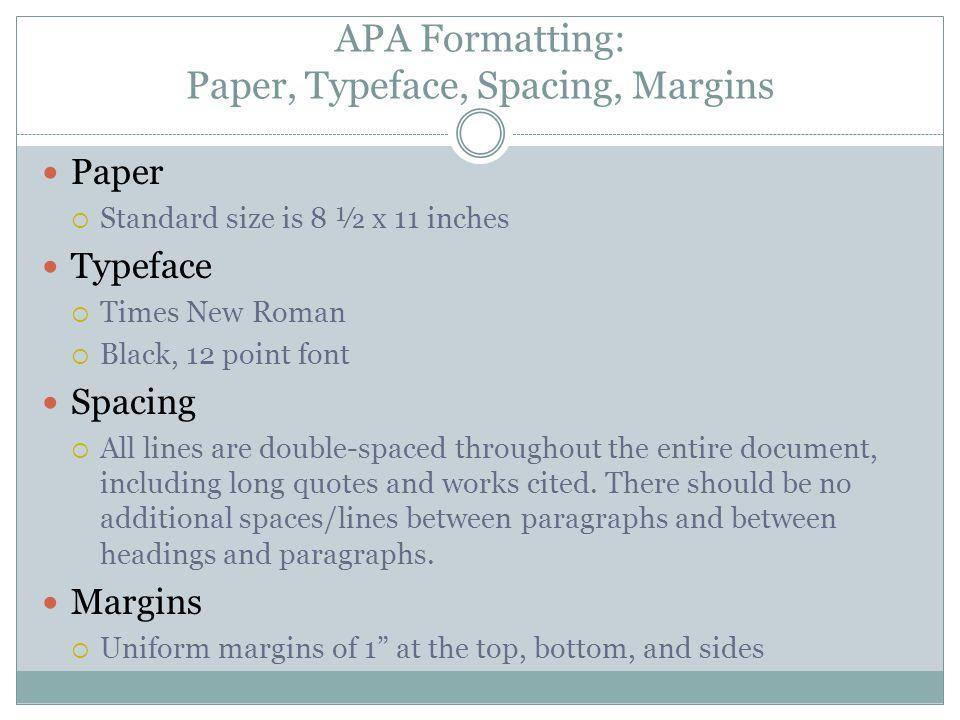 apa formatting essay