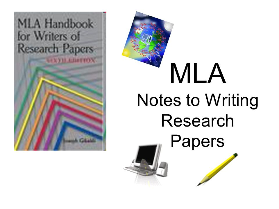 Writing A Research Paper Notes