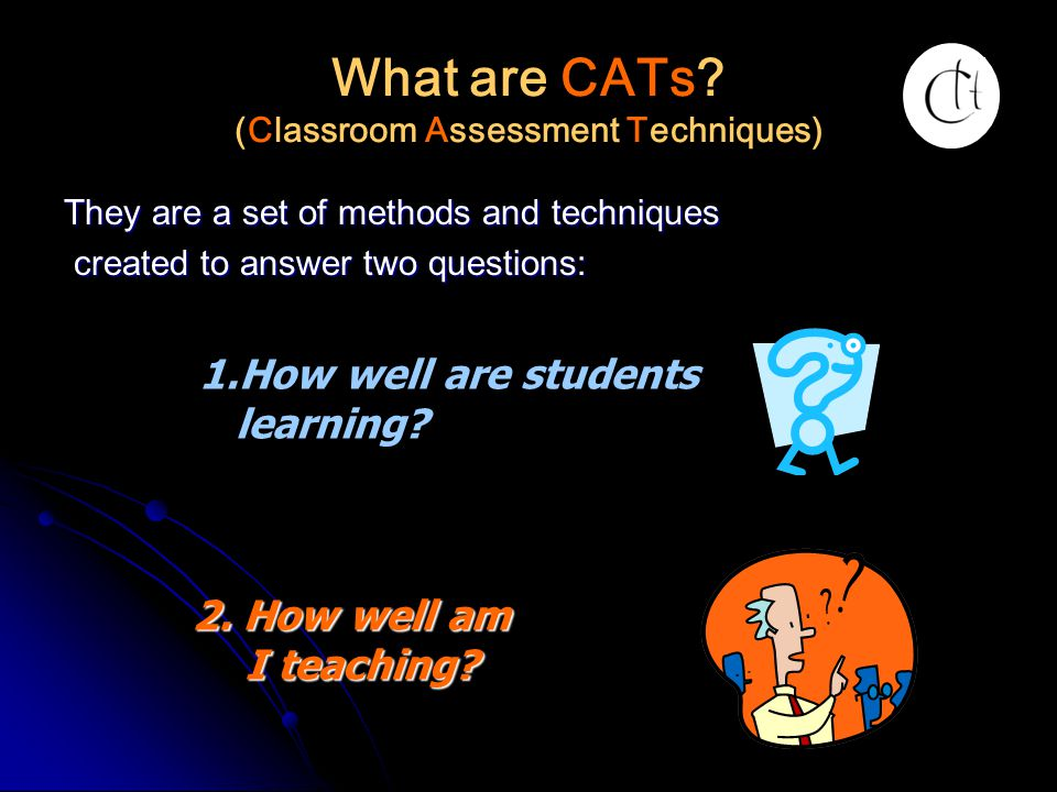 What are CATs (Classroom Assessment Techniques)