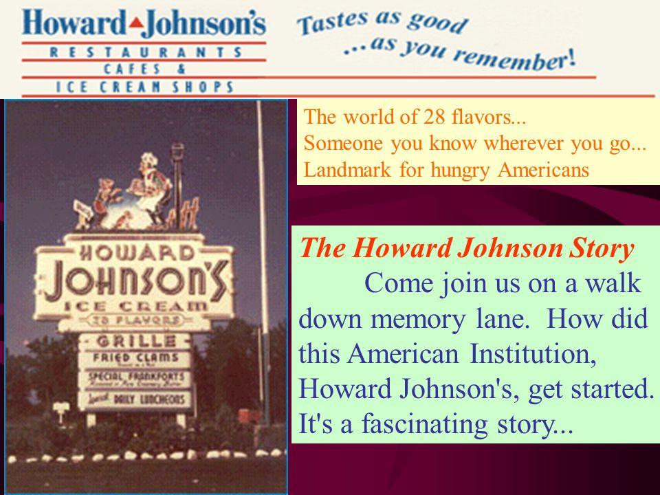 The Howard Johnson Story
