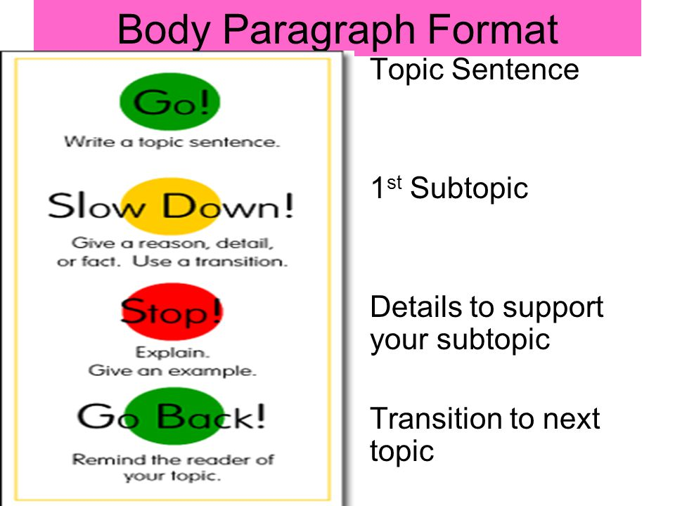 how to write a topic sentence for a research paper