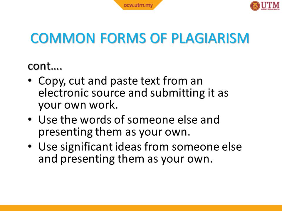 Cut and paste internet plagiarism nbc learn video
