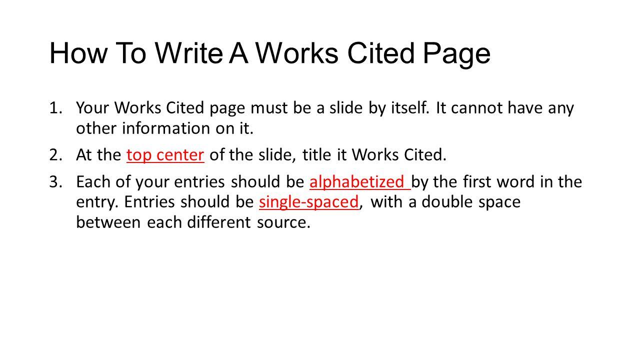 Online writing work