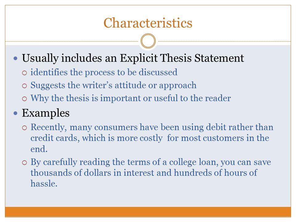 How to write explicit essay