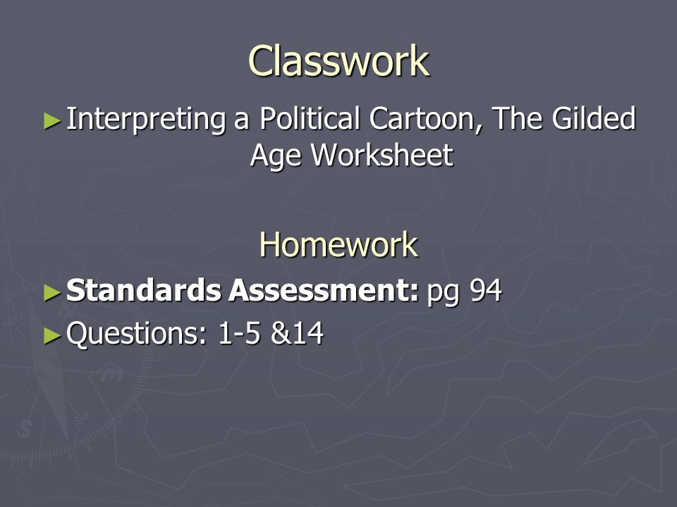 Interpreting Political Cartoons Worksheet : The triumph of industry chapter section ppt video