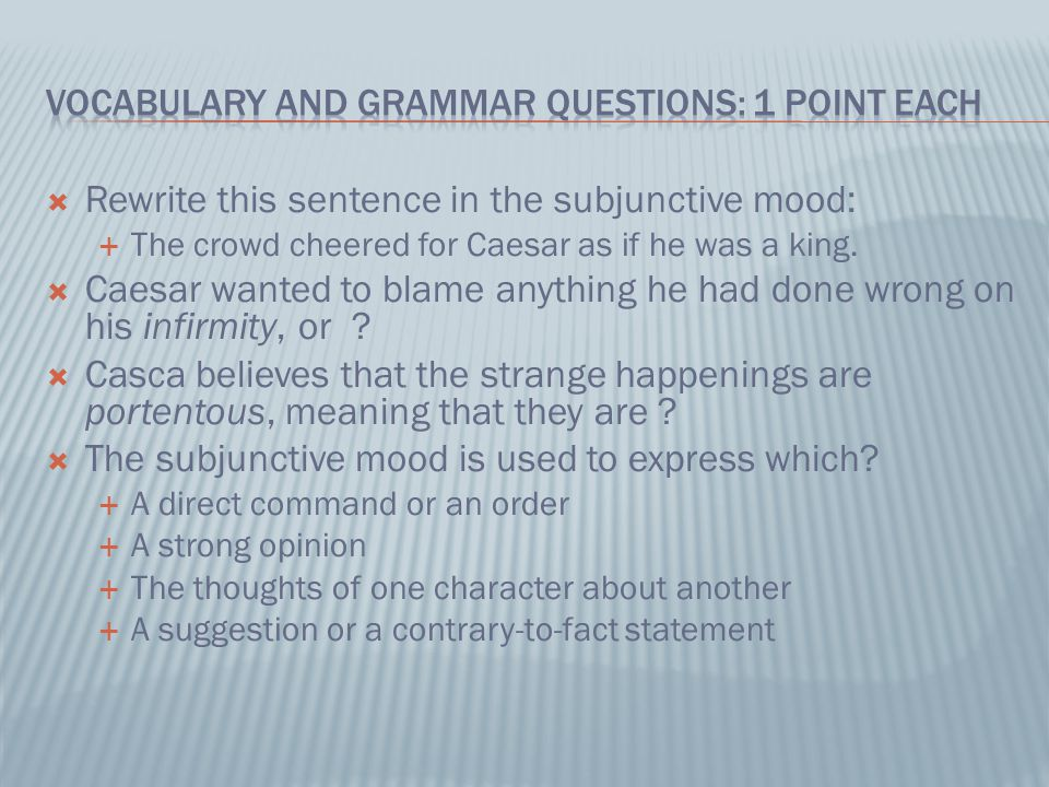 julius caesar act i essay questions Caesar study guide book title study guide test 36 julius caesar act 1 study guide questions image quotes, julius caesar act 1 study guide questions quotes.
