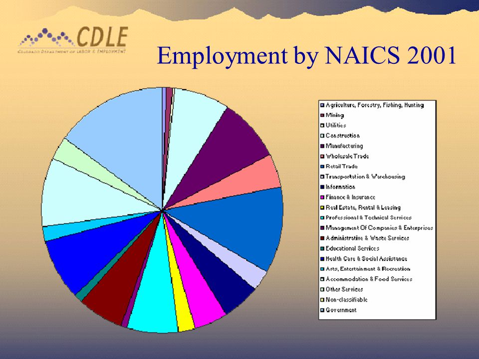 14 Employment By NAICS 2001