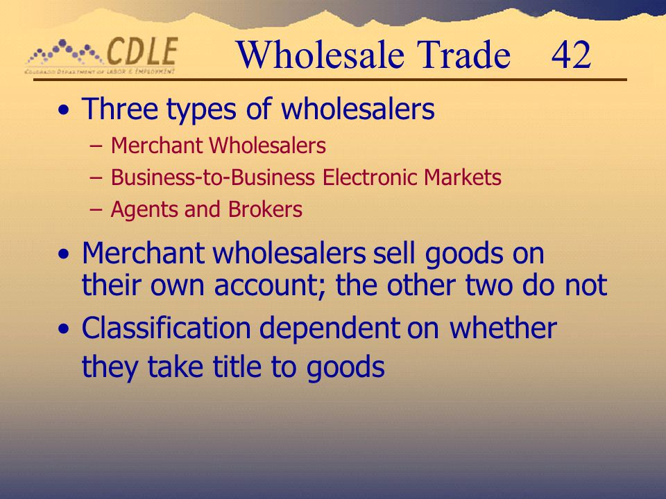 Tire Wholesale Warehouse >> Implementation of NAICS: North American Industry Classification System - ppt download