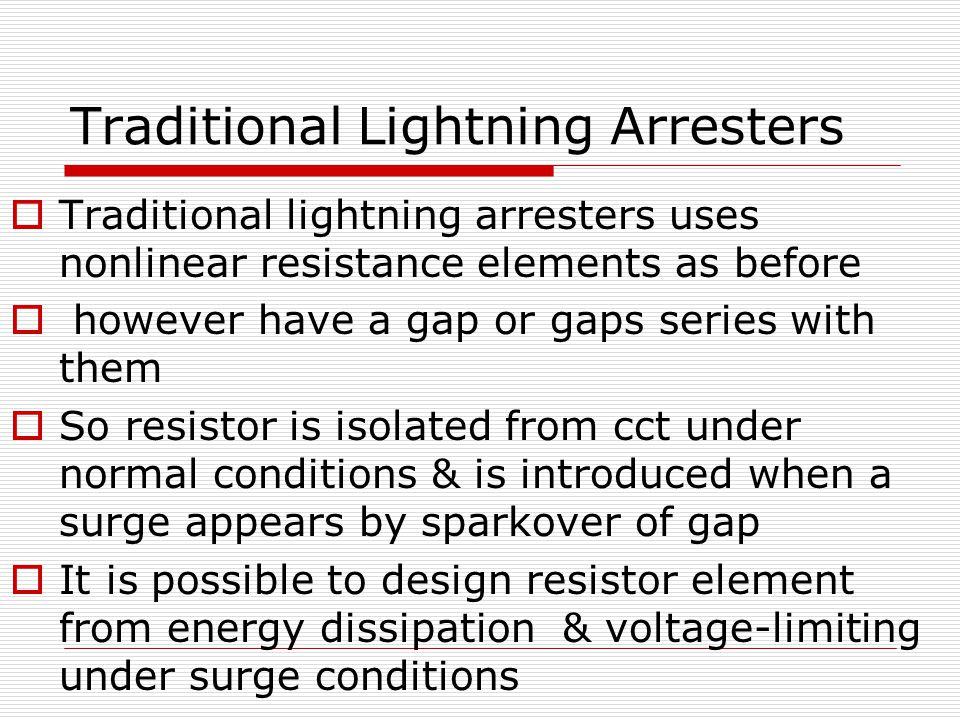 types of lightning arresters pdf