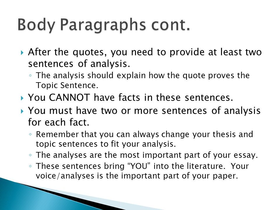 paragraphing using quotes Make sure that you have a good reason to use a direct quotation quoting should be done sparingly and should support your own work, not replace it.