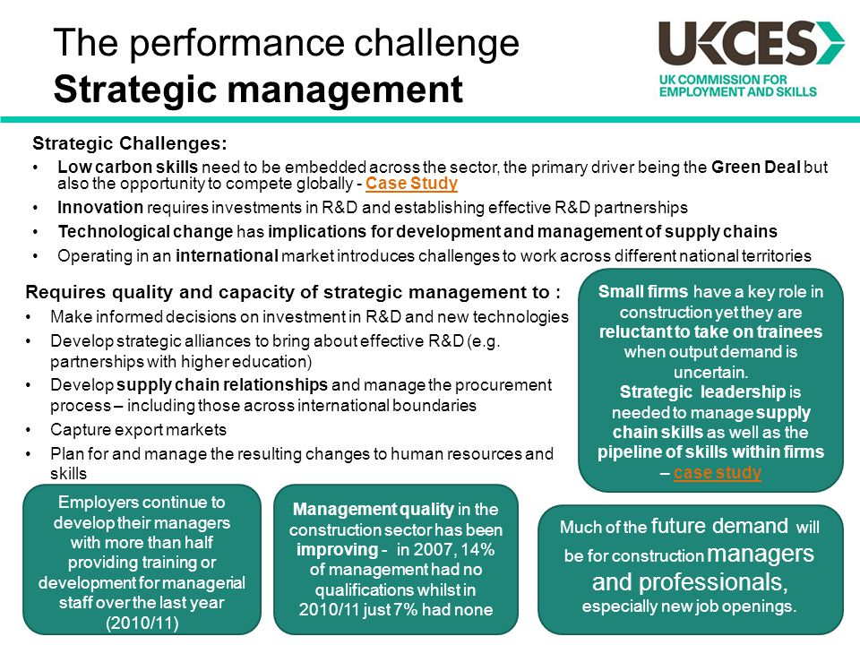 case study on strategic management and leadership Leadership case studies if there is one ever-green precept in management, this is it leadership a typical googling on this topic would result in millions of web pages.
