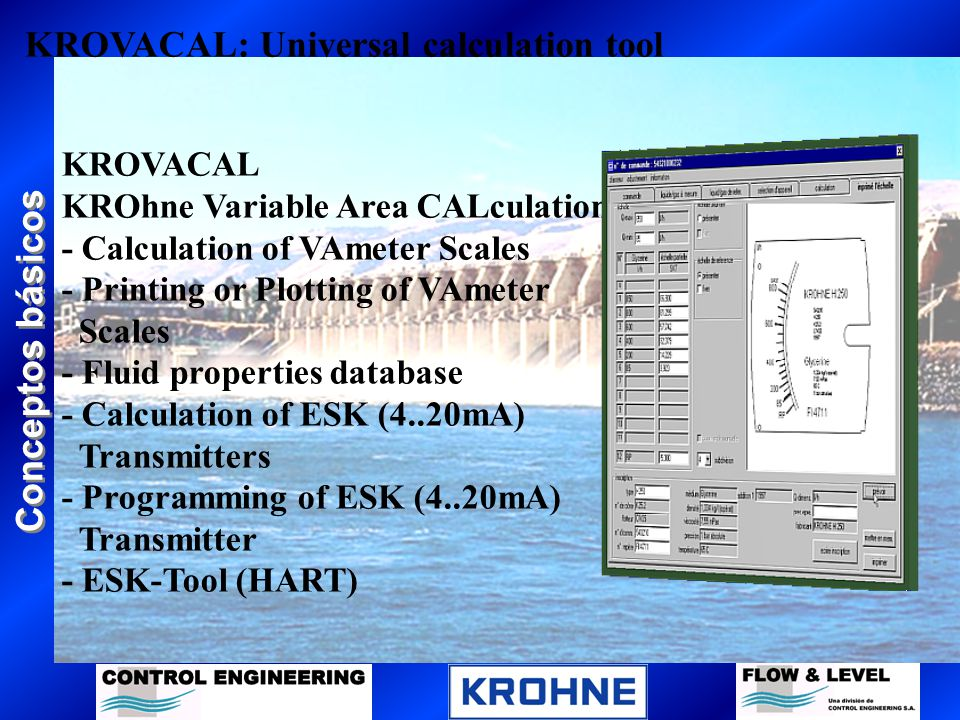 KROVACAL: Universal calculation tool
