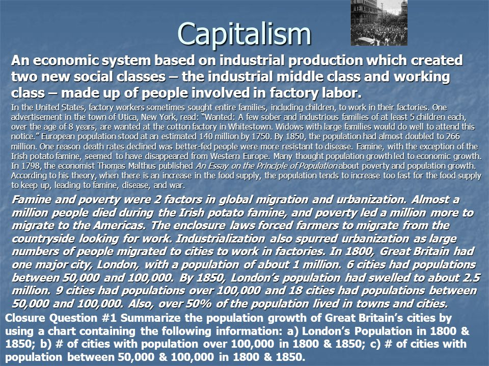 Is capitalism dead essay