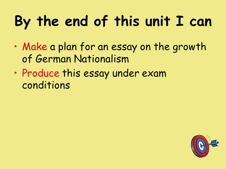 growth of german nationalism essay A summary of german nationalism and romanticism under french rule in german nationalism and romanticism under fueling the growth of german nationalism and.