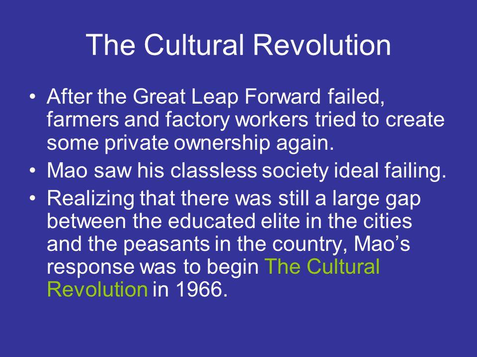 the cultural revolution begins Explore japan history major events and cultural milestones in japan major world events :  french revolution begins,.