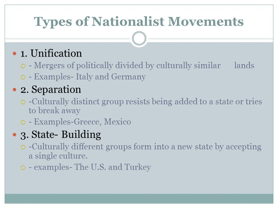 Chapter 8 Section 3 Nationalism. - ppt download