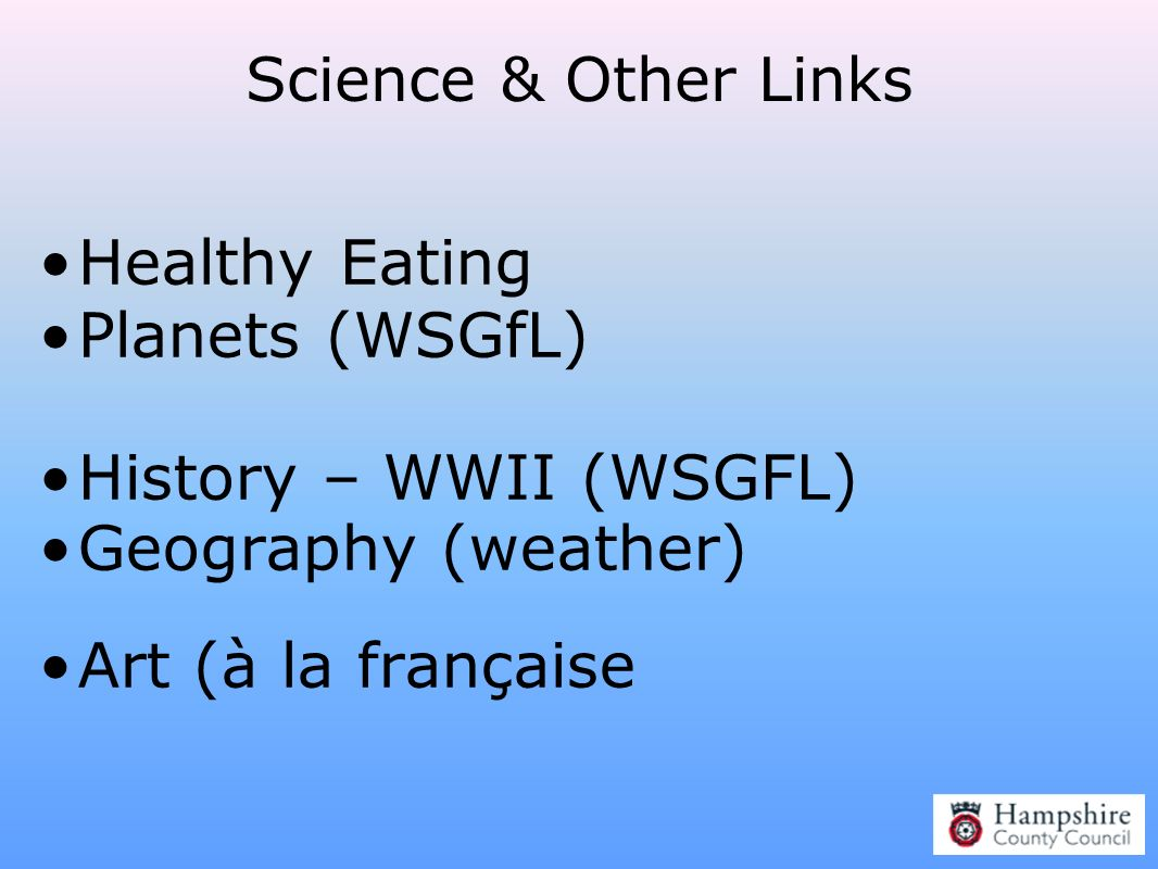 Healthy Eating Planets (WSGfL) History – WWII (WSGFL)