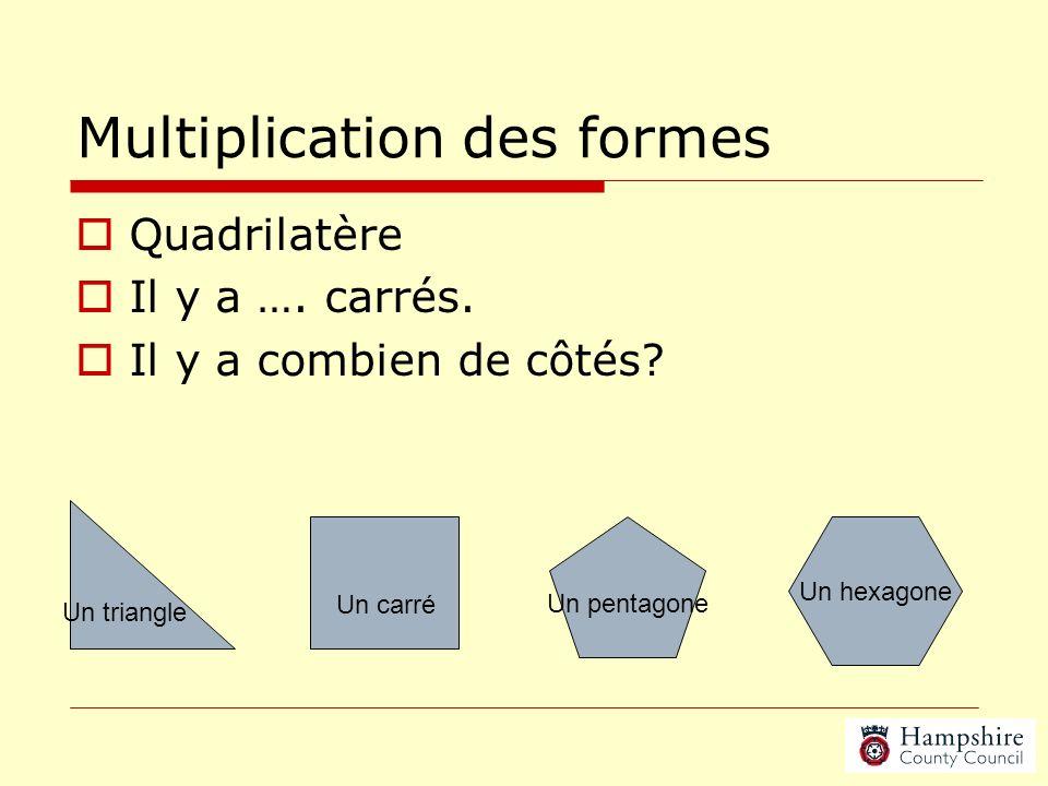 Multiplication des formes