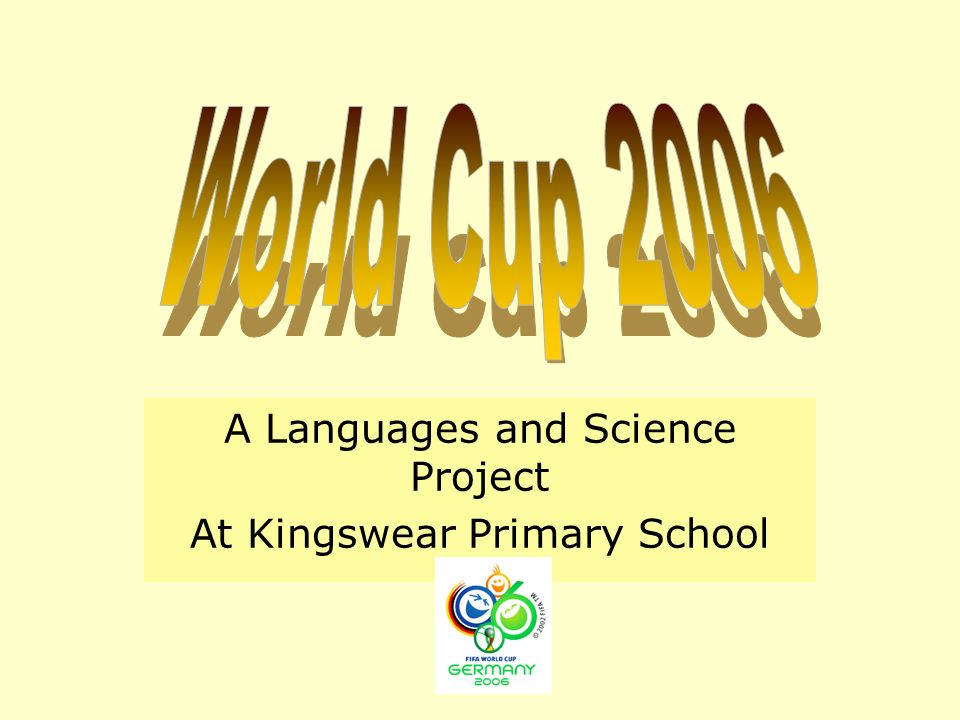 A Languages and Science Project At Kingswear Primary School