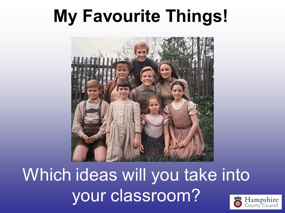 Which ideas will you take into your classroom