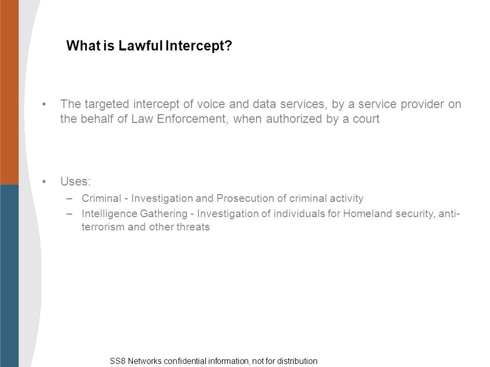 What is Lawful Intercept