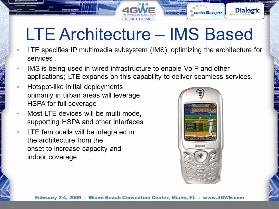 Brough turner dialogic ppt download for Architecture lte