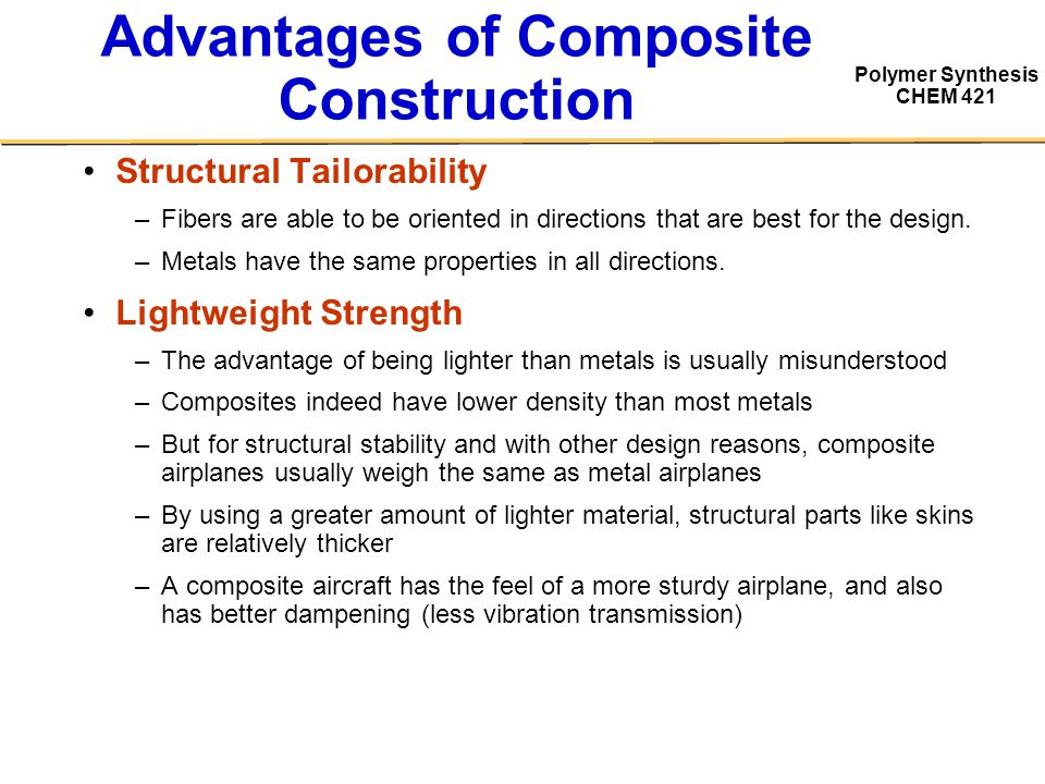 "advantages of composite construction 8 replies to ""6 advantages and 6 disadvantages of composite decking"" steve march 4, 2007 at 4:46 pm fwiw, i agree i've yet to see a."