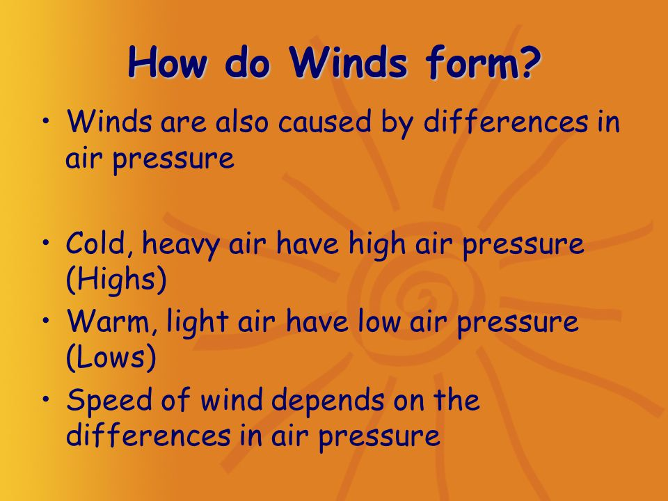 Heating the Earth Air Pressure - ppt video online download