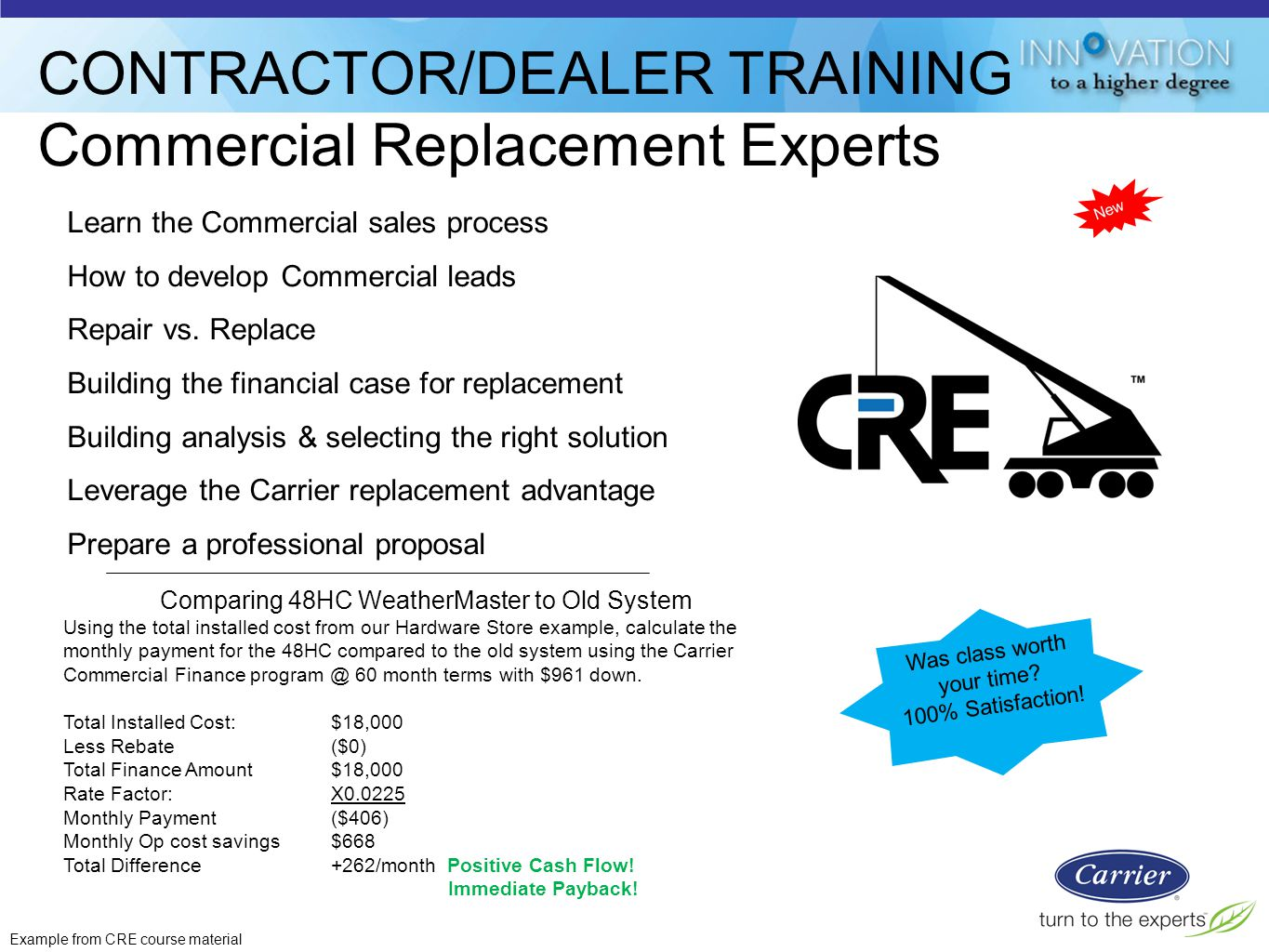 CONTRACTOR%2FDEALER+TRAINING+Commercial+Replacement+Experts light commercial rooftops & split systems ppt video online download carrier 48hc wiring diagram at edmiracle.co