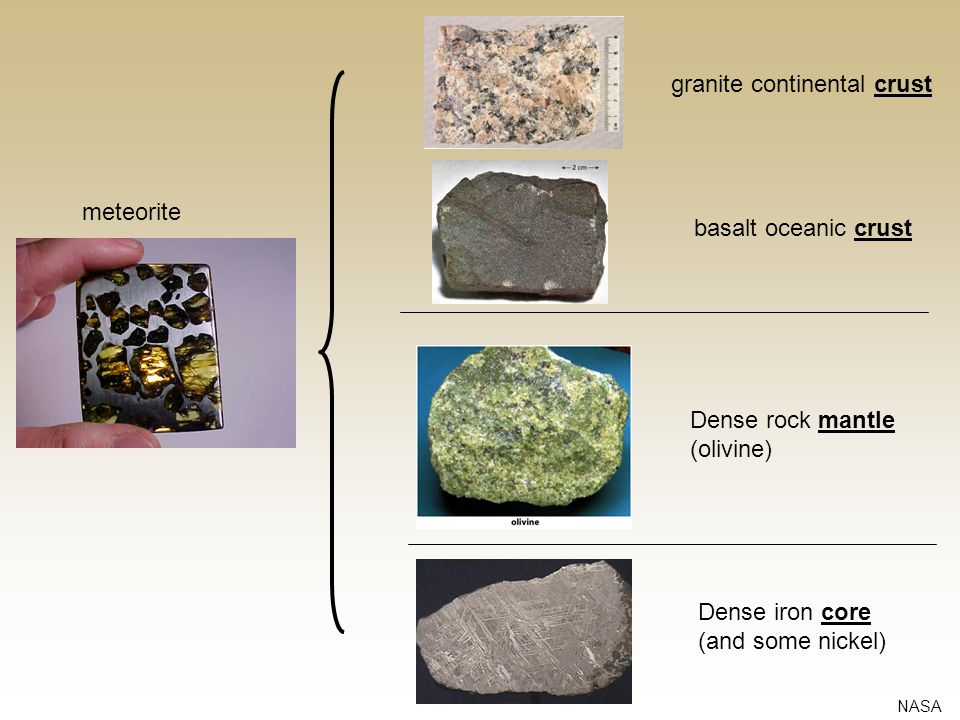 granite continental crust