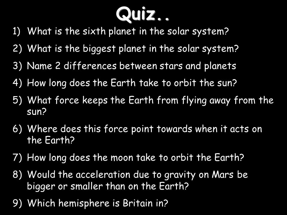 The Earth and Beyond. - ppt download