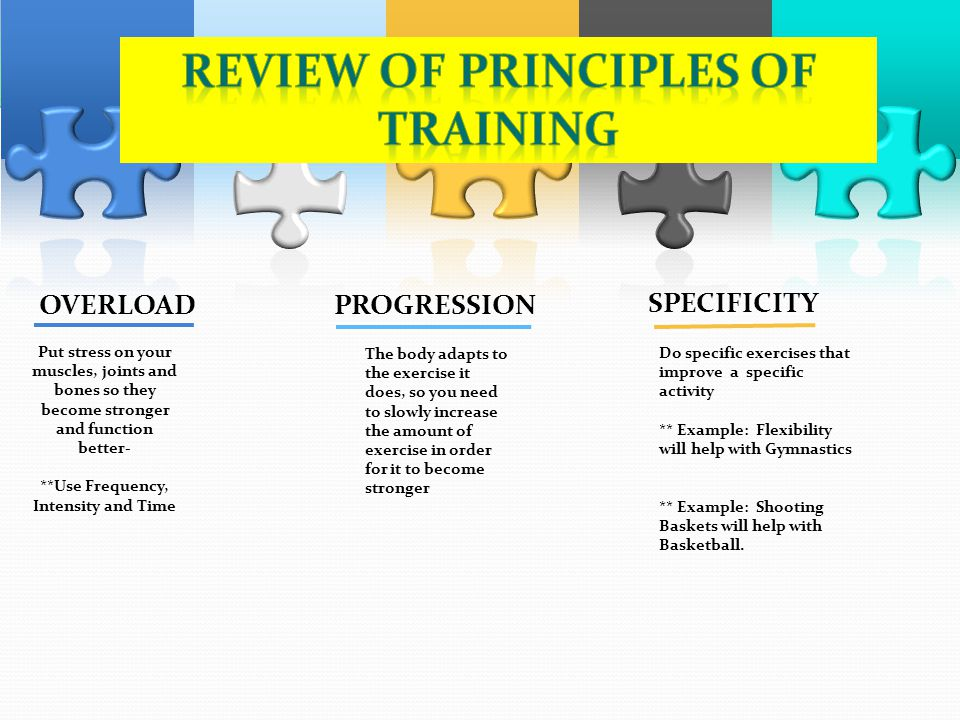 Connect The Principles Of Training Ppt Video Online
