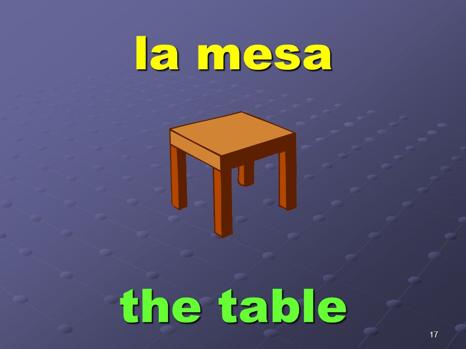 la silla the chair
