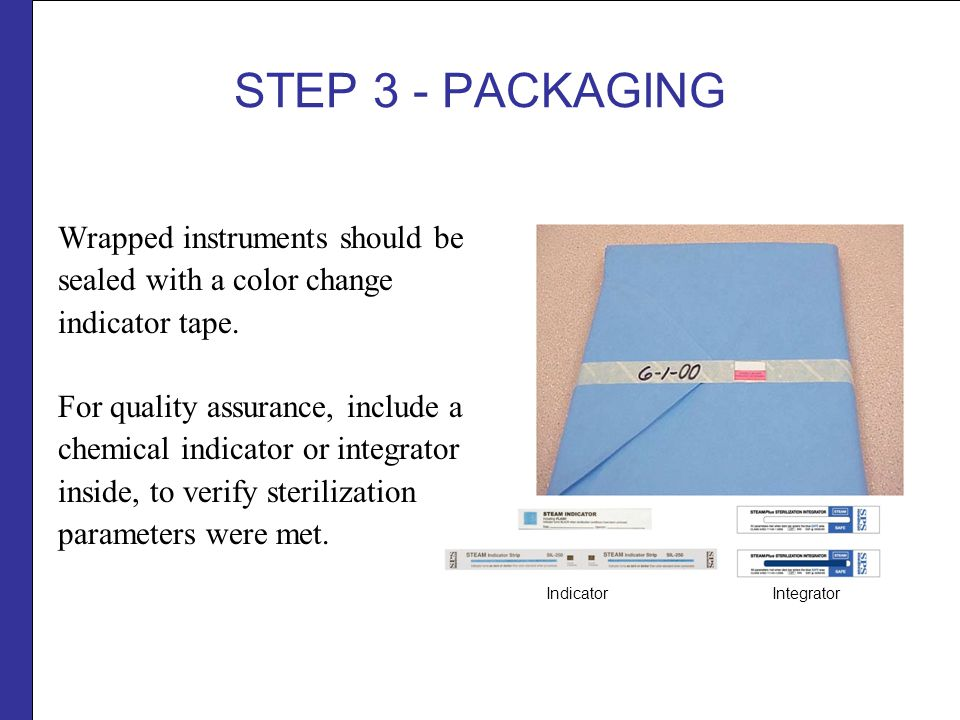 sterilization wrap instructions for use