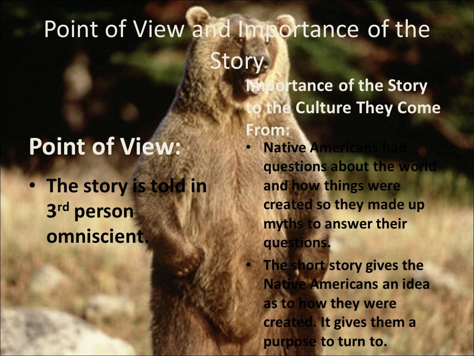 importance of point of view in Learning the role of viewpoint—and understanding that each person has a unique point of view—is one of the most important thinking skills that.