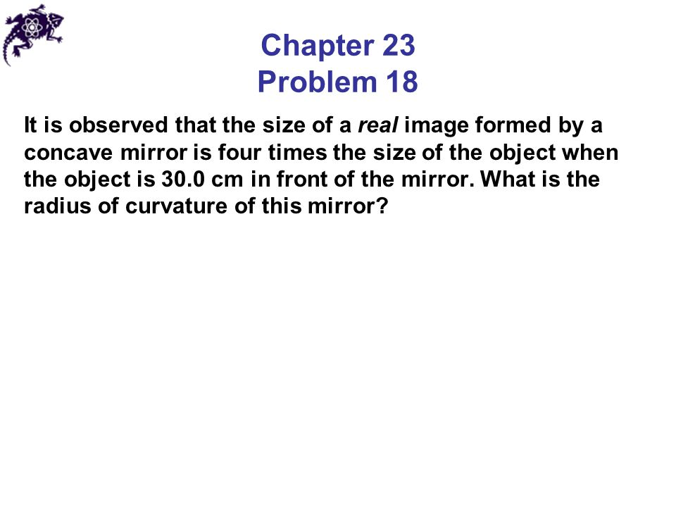 Chapter 23 Problem 18