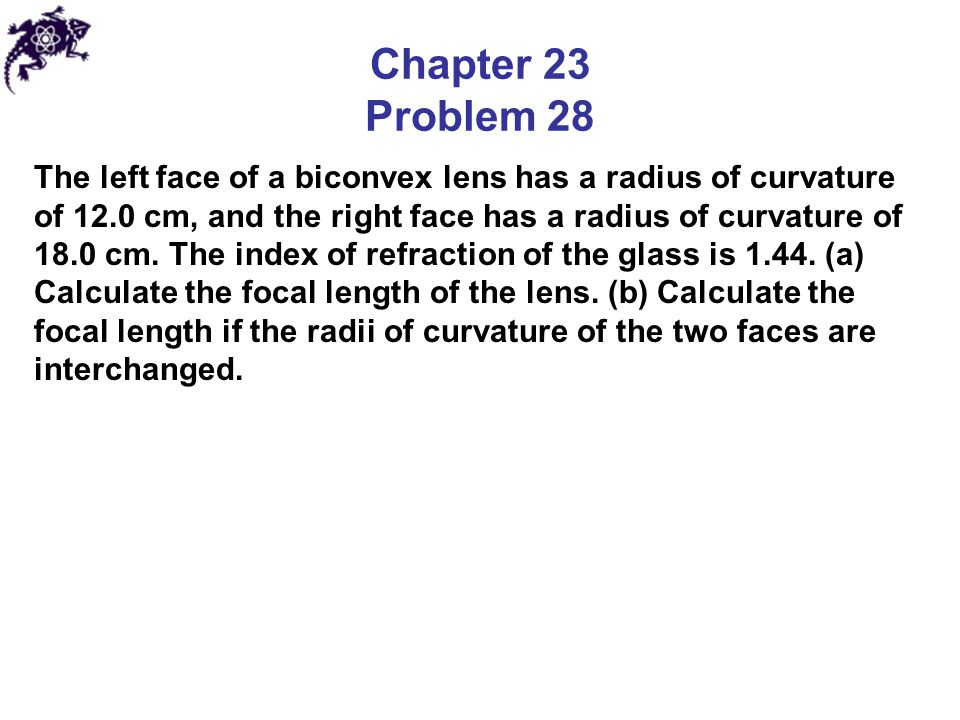 Chapter 23 Problem 28