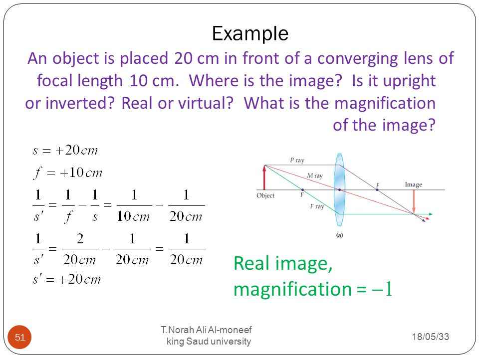 how to find the magnification of an image