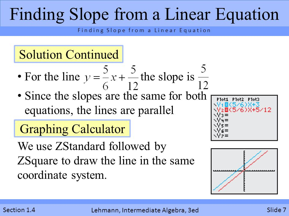 Meaning of slope for equations graphs and tables ppt video finding slope from a linear equation ccuart Choice Image