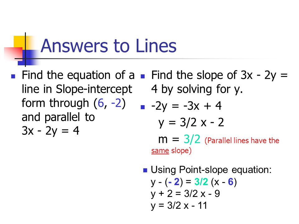 how to find y intercept without equation
