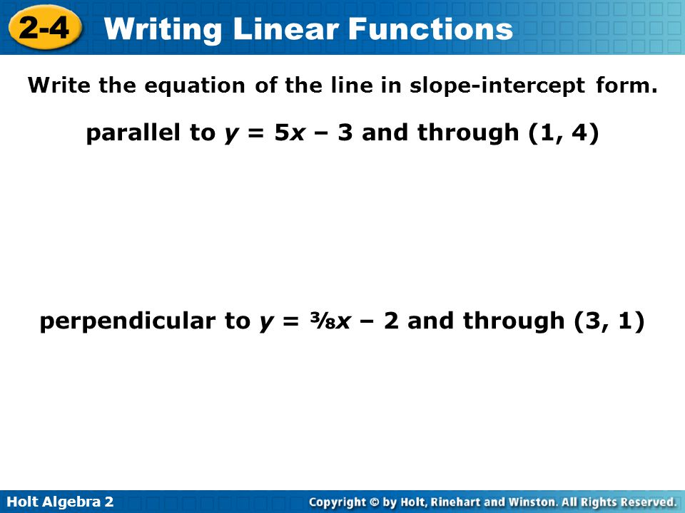 use function notation to write the equation of the line How do you write an equation of the line using function notation given slope 0 through (-1,-4.