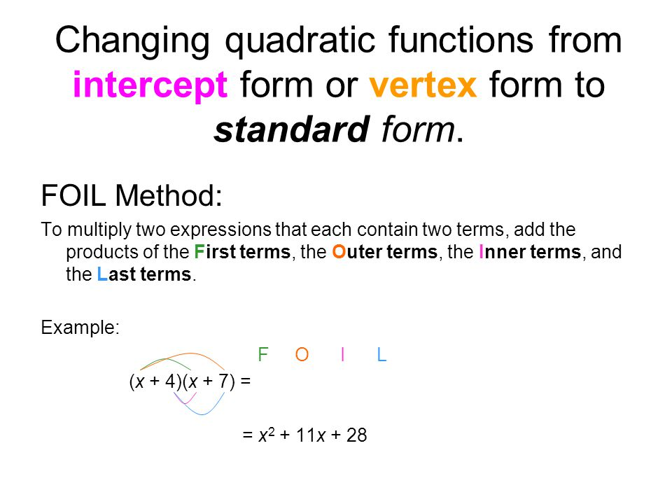Graph each function. Label the vertex and axis of symmetry. - ppt ...