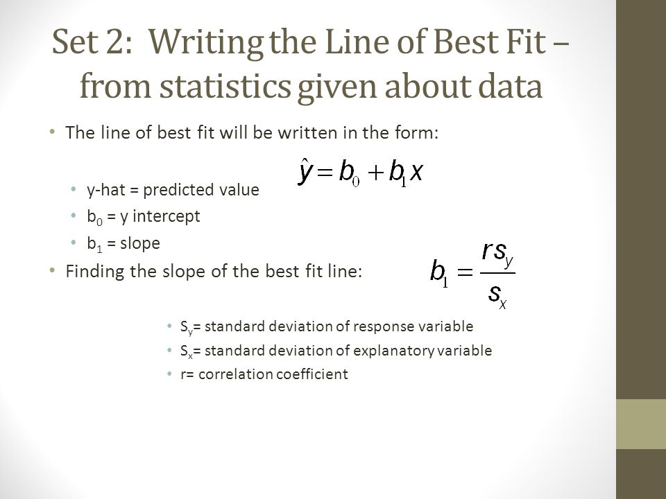 how to find predicted value in statistics