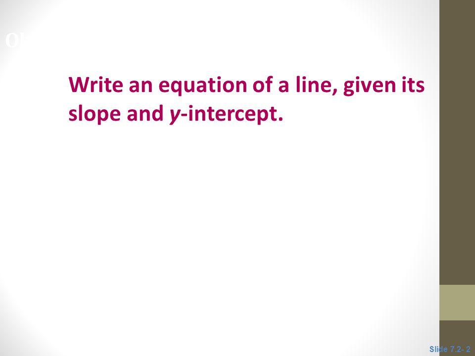 Write a linear model